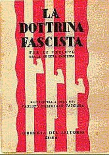 the doctrine of fascism