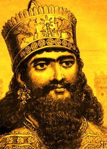 King nebuchadnezzar clipart